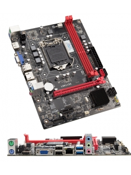 Placa Base Intel Socket 1155 B75 USB3,0 HDMI