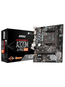 Placa Base AM4 MSI A320M-A PRO Max