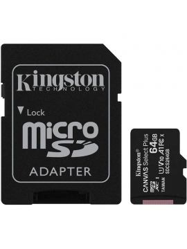Micro SDHC Kingston 64Gb 100Mb/s