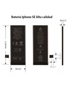 Bateria Iphone 5 SE Alta Calidad Original