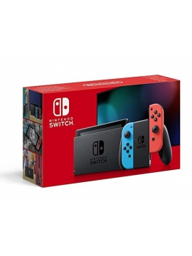 Nintendo Switch Azul Neon Rojo Neon v2 (Version Importada)