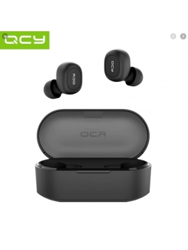 Auriculares Bluetooth V5 QCY-QS2 Tws Color Negro