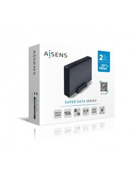 Caja HDD 3.5 USB 3.1 Aisens ASE-3530B