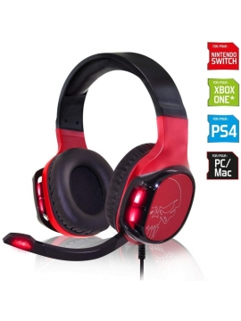 Cascos Switch Spirit Of Gamer ELITE-H60 Rojo