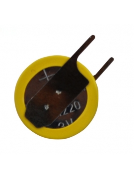 Pila de Boton 3V CR1220 Para Soldar en PCB
