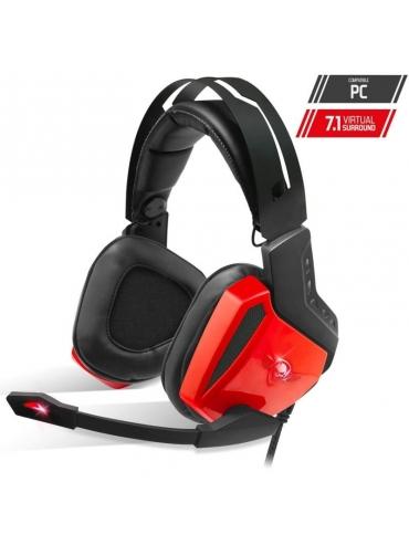 Auriculares Gaming Headset Spirit of Gamer XPERT-H100 RED 7,1 USB