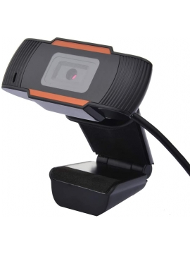 Cámara Webcam HD 720p Incorporado Micrófono.
