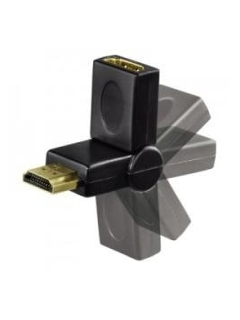 Adaptador HDMI Flexible 90+180 BIWOND Macho Hembra