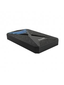 """Caja HDD Tooq SATA 2,5"""" USB 3,0 USB 3,1 TQE-2550BL"""