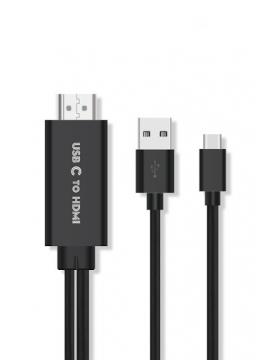 Adaptador USB-C a HDMI ONTEN OTN-95112 PD