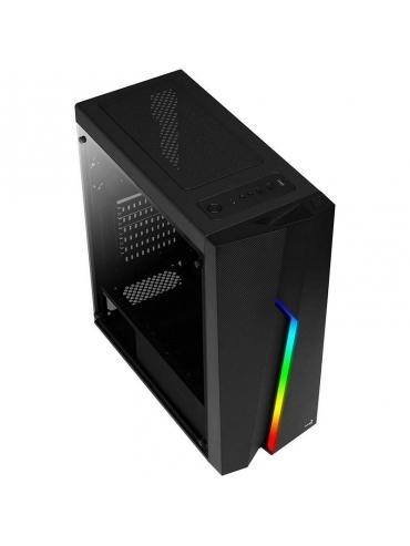 Caja AeroCool Bolt RGB Negra Mini