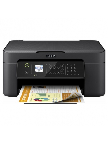 Impresora Multifunción Epson Workforce WF-2810DWF Wifi/ Fax/ Dúplex/ Negra