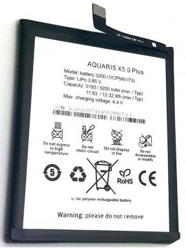 Bateria BQ X5 Plus