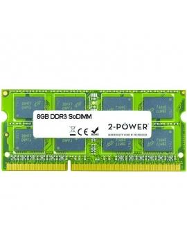 Memoria SODIMM 2-Power MultiSpeed 8GB/ DDR3/ 1066/ 1333/1600 MHz