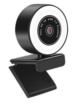 Web Cam Generica Youtuber HD1080P CMOS Con Micto Y Luz
