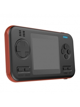 Consola Clásica Portatil + Powerbank 416 Juegos Naranja/Negro