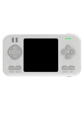 Consola Clásica Portatil + Powerbank 416 Juegos Blanco