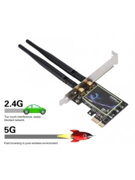 Wifi PCI-E Generica SU-N600 2.4Ghz/5Ghz 600Mbps