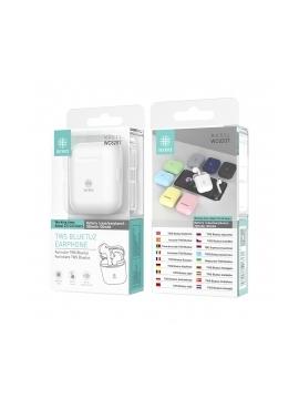 Auriculares Bluetooth WC8207 Tws 5,0 Blanco