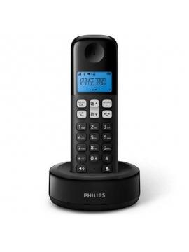 Teléfono Inalámbrico Philips D1611B/34/ Negro