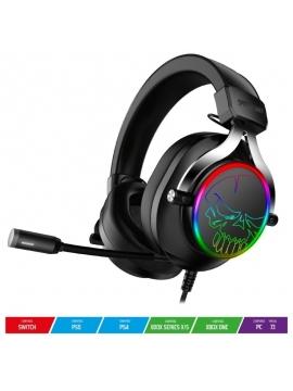 Auriculares Gaming con Micrófono Spirit of Gamer XPERT H600/ Jack 3.5/ USB 2.0