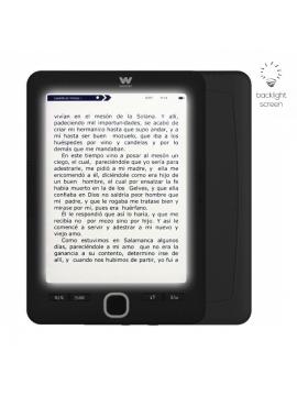 """Libro electrónico Ebook Woxter Scriba 195 Paperlight Black/ 6""""/ tinta electrónica/ Negro"""