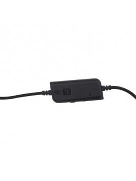uriculares Gaming con Micrófono SureFire Harrier 360/ USB/ Negros