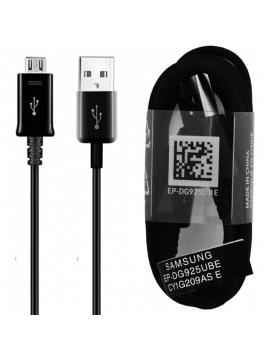 Cable USB Samsung Original EP-DG925UWZ Negro