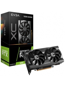 Tarjeta Gráfica EVGA GeForce RTX 3060 XC GAMING/ 12GB GDDR6