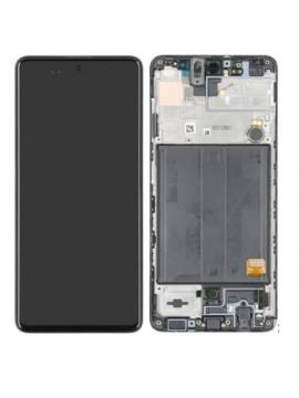 Pantalla completa para Samsung Original AMOLED A51 SM-A515 negra original