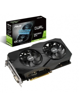 Tarjeta Gráfica Asus GeForce GTX 1660 SUPER OC DUAL 6GB GDDR6 (Reacondicionada)