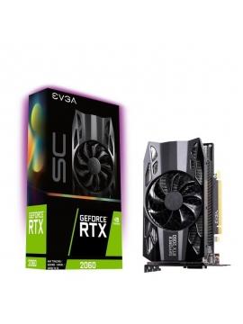 Tarjeta Gráfica EVGA GeForce RTX 2060 SC Gaming 6GB GDDR6