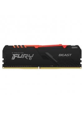 Memoria RAM Kingston FURY Beast RGB 16GB DDR4 3200MHz 1.35/ CL16