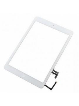 Pantalla táctil con flex bóton home para iPad Air A1474/A1475/A1476 iPad 5 A1822/A1823 blanca