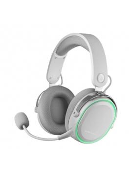 Auriculares Gaming con Micrófono Inalámbricos Mars Gaming MHW Jack 3.5 USB 2.0 Blancos