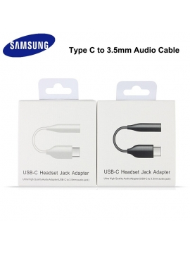 Adaptador USB-C a Adaptador de Auricular Jack 3,5 Samsung EE-UC10J Negro