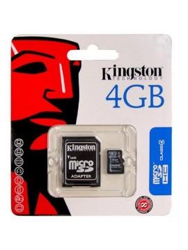 Micro SDHC Kingston 4Gb