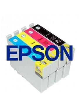 Tinta Epson Compatible T1281BK Negro