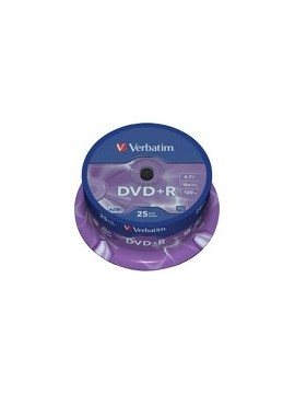 DVD+R Verbatim 25U.