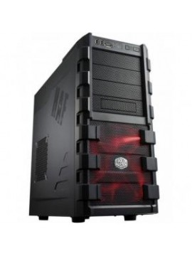 Caja CoolerMaster Atx Haf 912 Gaming Negra Plus