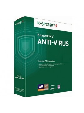 Antivirus Kaspersky 2016 1PC/1año