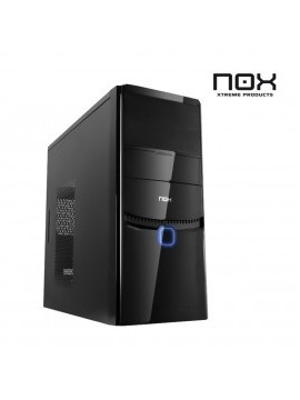 Caja Micro ATX NOX X-pace Negro Gloss