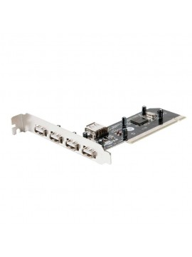 Tarjeta Pci 4 Puertos USB 2,0 Logilink