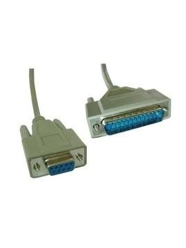 TPV Cable Serie TPV 1,8M  (DB25M-DB9H)