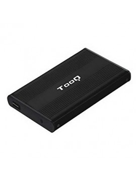 """Caja HDD Tooq Aluminio SATA 2,5"""" TQE-2510B"""