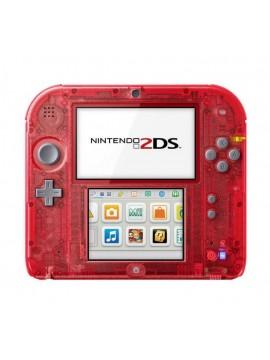 Nintendo 2DS Roja Transparente