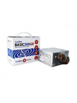 Fuente 500W CoolBox Basic 2xSata