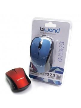 Raton Optico Biwond USB Wired