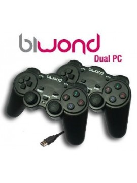 Game Pad Pc Biwond STK-8042B Doble