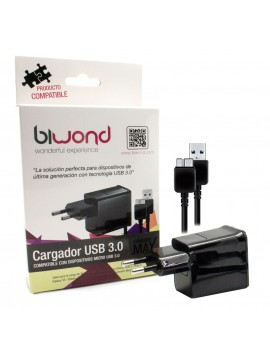 Cargador Smartphone USB 3.0 Biwond